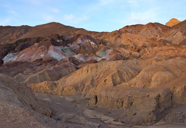 Death Valley, Artist Pallete