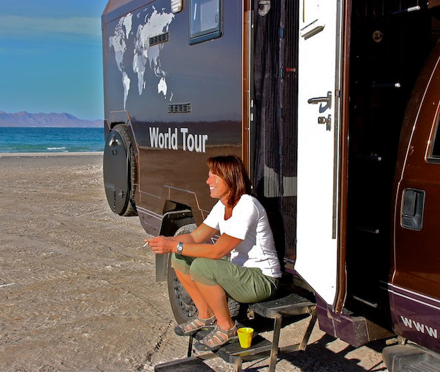 Mexico, Baja California Sur, Playa Telecote