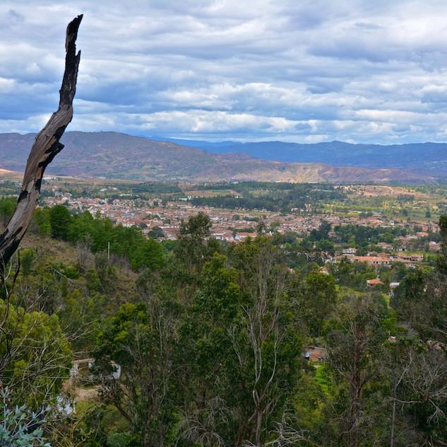 Colombia, Villa de Leyva; viewpoint