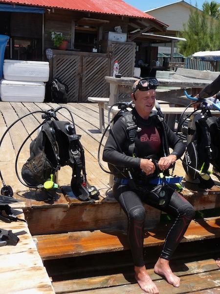 Honduras, Utila ; Diving course (4)