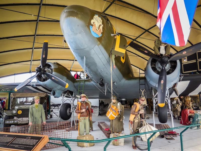 Frankrijk: Sainte Mère Eglise, Airborne Museum (3)