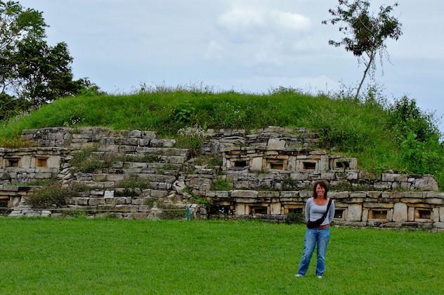 Mexcio, Archeological Site Yohualichan (2)