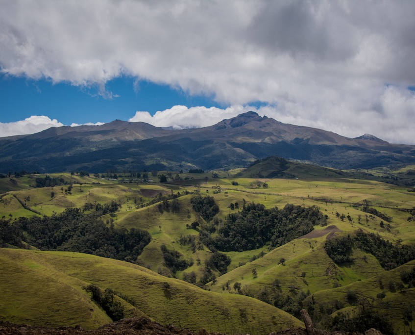 Colombia, on the road to San Agustin (1)