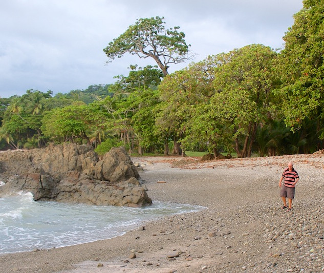 Costa Rica, Playa Mal Pais ; Our view (4)