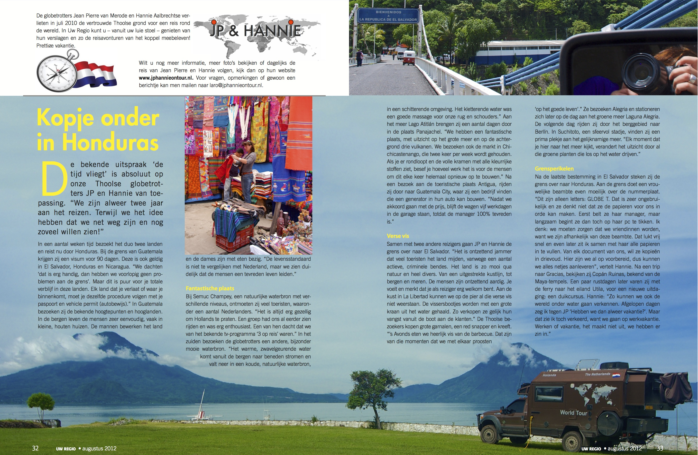 Reisverslag Augustus 2012