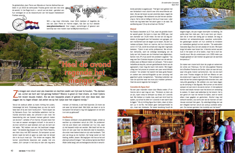 Reisverslag Mei 2012