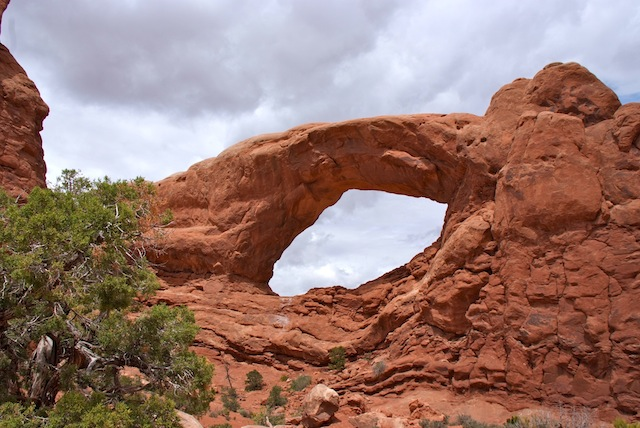 Arches North Window