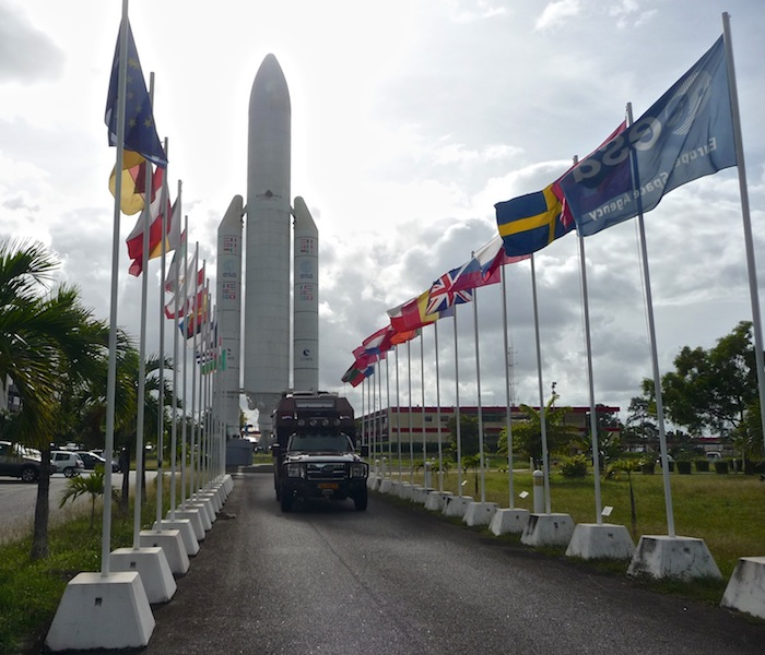 Frans Guyana, Kourou, Space center (1)