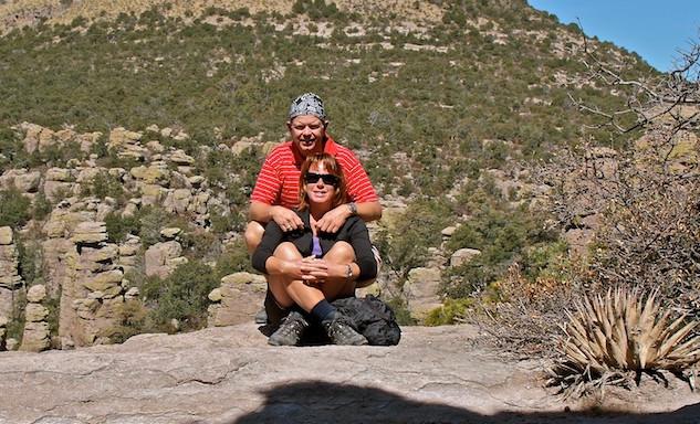 Chiricahua National Monuments, JP en Hannie