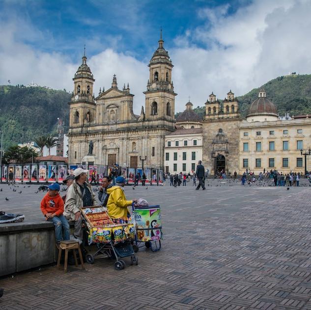Colombia, Bogotá, Plaza (3)