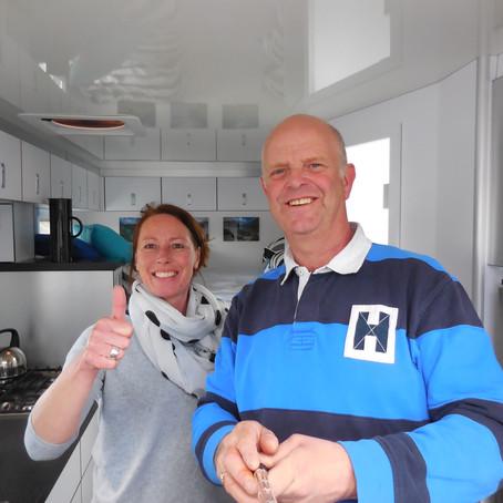 JP en Hannie genieten aan de Franse kust