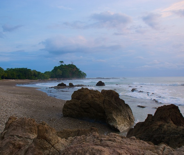 Costa Rica, Playa Mal Pais ; Our view (2)