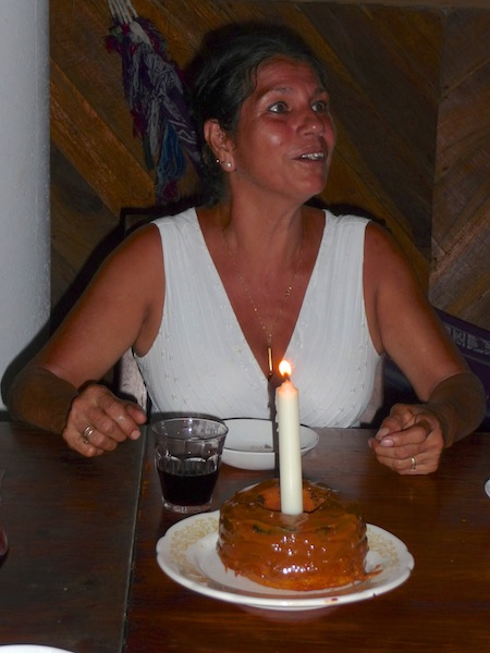 Costa Rica, Cahuita; Maria's verjaardag