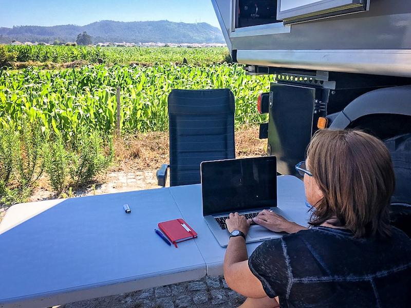 Portugal: Esposende, werken voor To Assist