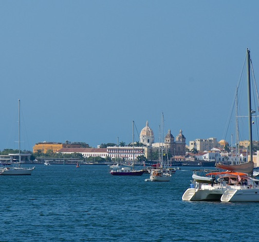 Colombia, Cartagena; arrive with sailboat(4)