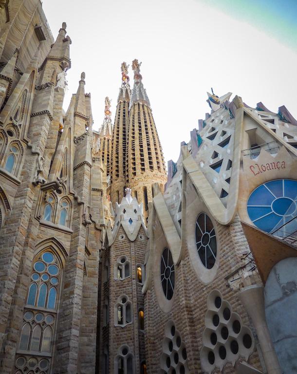 Spanje-Barcelona:La Sagrada Familia (2)