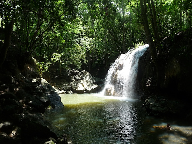 Guatemala, Cascadas El Paraiso (1)