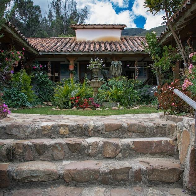 Colombia, Villa de Leyva; at the Hostal (4)