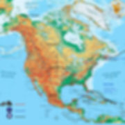 Route van JP en Hannie in Noord Amerika