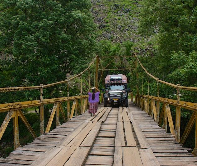 Guatemala, the bridge to Semuc Champey