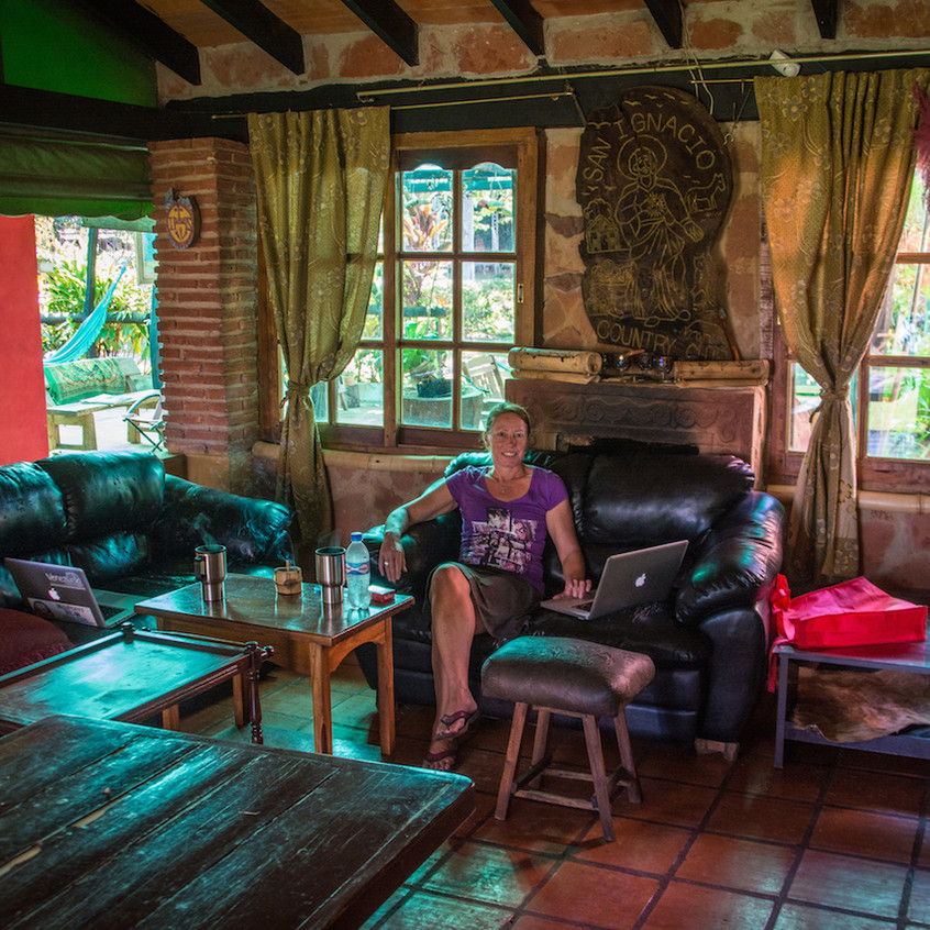 Paraguay, San Ignacio; campground (3)