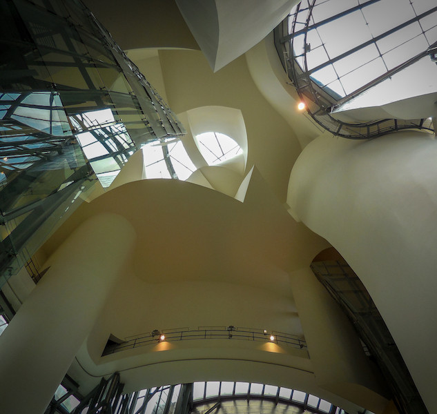 Spanje: Bilbao, Guggenheim museum (3)