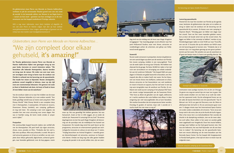 Reisverslag Maart 2011