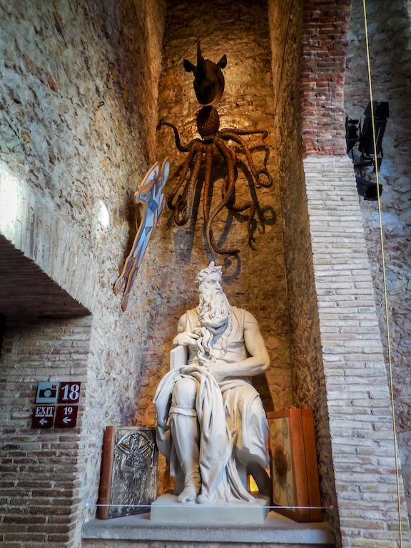 Spanje: Figueres-Salvador Dali Theatre Musea (3)
