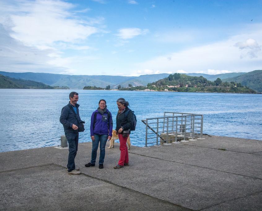Chili, Niebla; with Janneke and Wietze