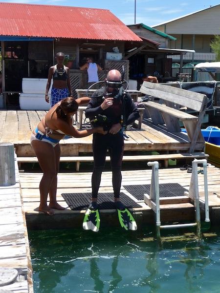 Honduras, Utila ; Diving course (1)