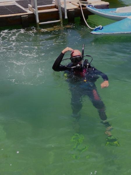 Honduras, Utila ; Diving course (2)