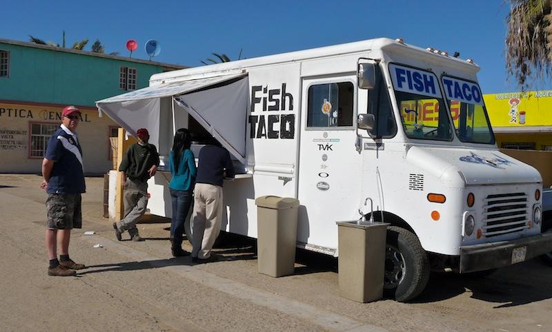 Mexico, Baja California; Fish Taco's