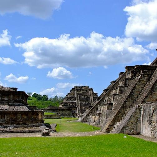 Mexico, Archeological Site El Tajin