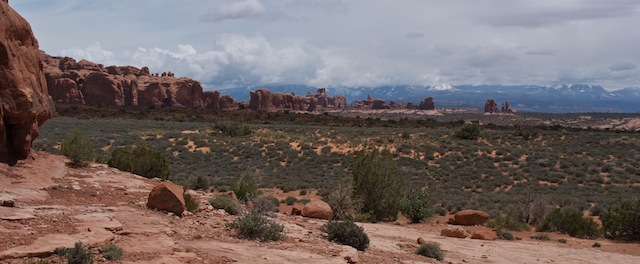 Arches panorama