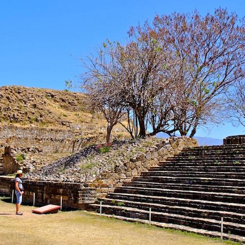 Mexico, Oaxaca; Mont Alban 4