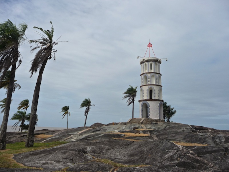 Frans Guyana, Kourou; The lighthouse