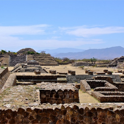 Mexico, Oaxaca; Mont Alban 5