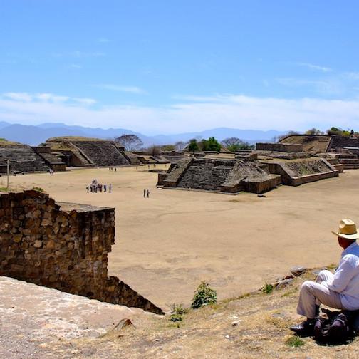 Mexico, Oaxaca; Mont Alban 2
