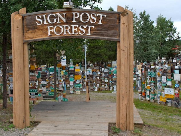Watson Lake, Sign Post Forest (1)