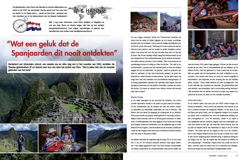 Reisverslag Januari 2014