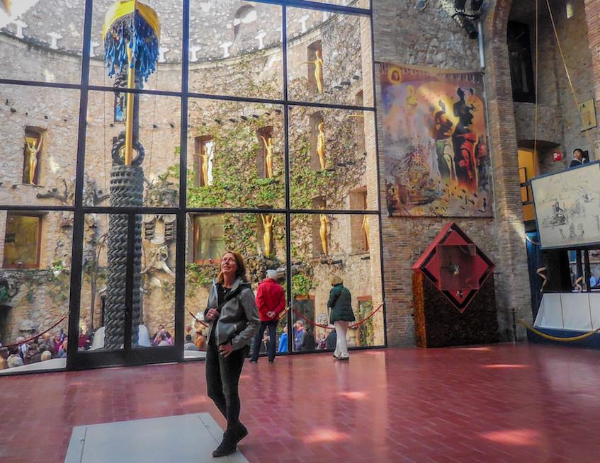 Spanje: Figueres-Salvador Dali Theatre Musea (5)