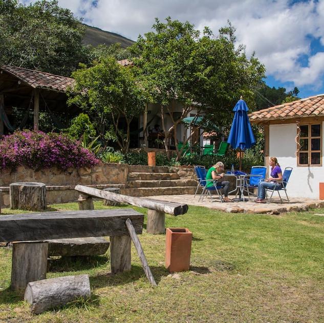 Colombia, Villa de Leyva; at the Hostal (3)