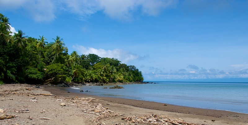 Costa Rica,Drake Bay; Beach View (1)