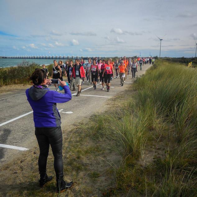 Holanda, Kamperland; Kust Marathon