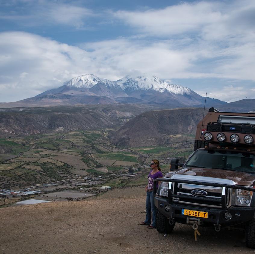 Chili, route Parque Nacional Lauca (2)