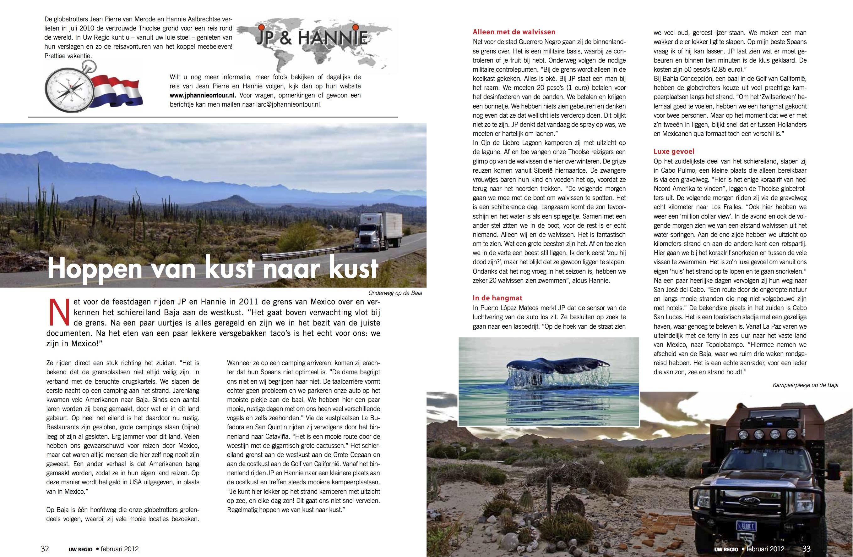 Reisverslag Februari 2012