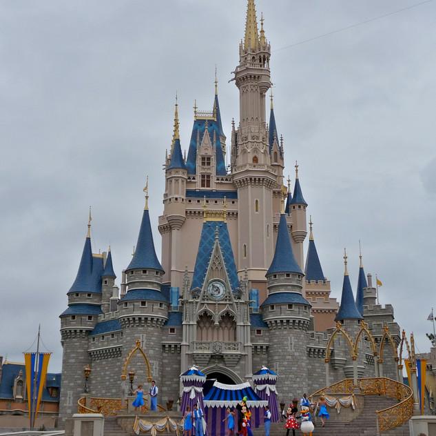 WDW, Magic Kingdom het kasteel