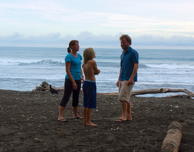 Costa Rica, Ostinal ; waiting for the Turtle's