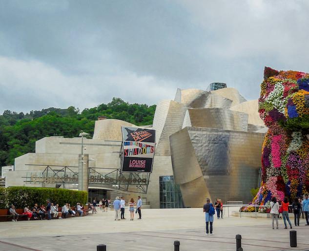 Spanje: Bilbao, Guggenheim museum (1)