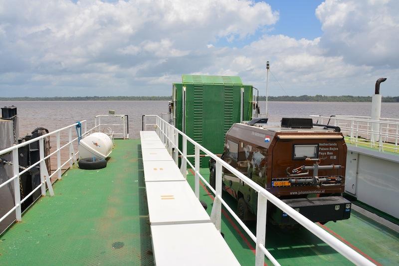 Surinam to Guyana (1)